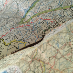 vintage maps ~you choose~