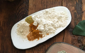 ~kaolin clay~ face mask {radiant} ~add honey or vegan~