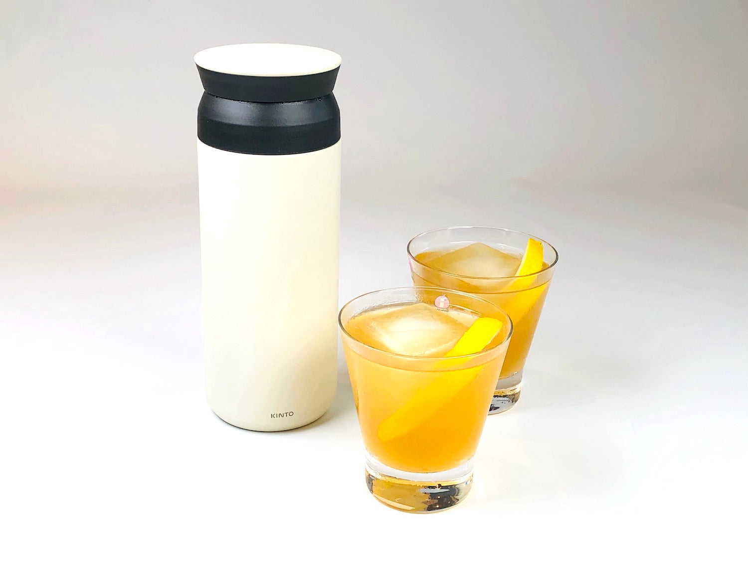 Kinto Travel Tumbler and Cocktails