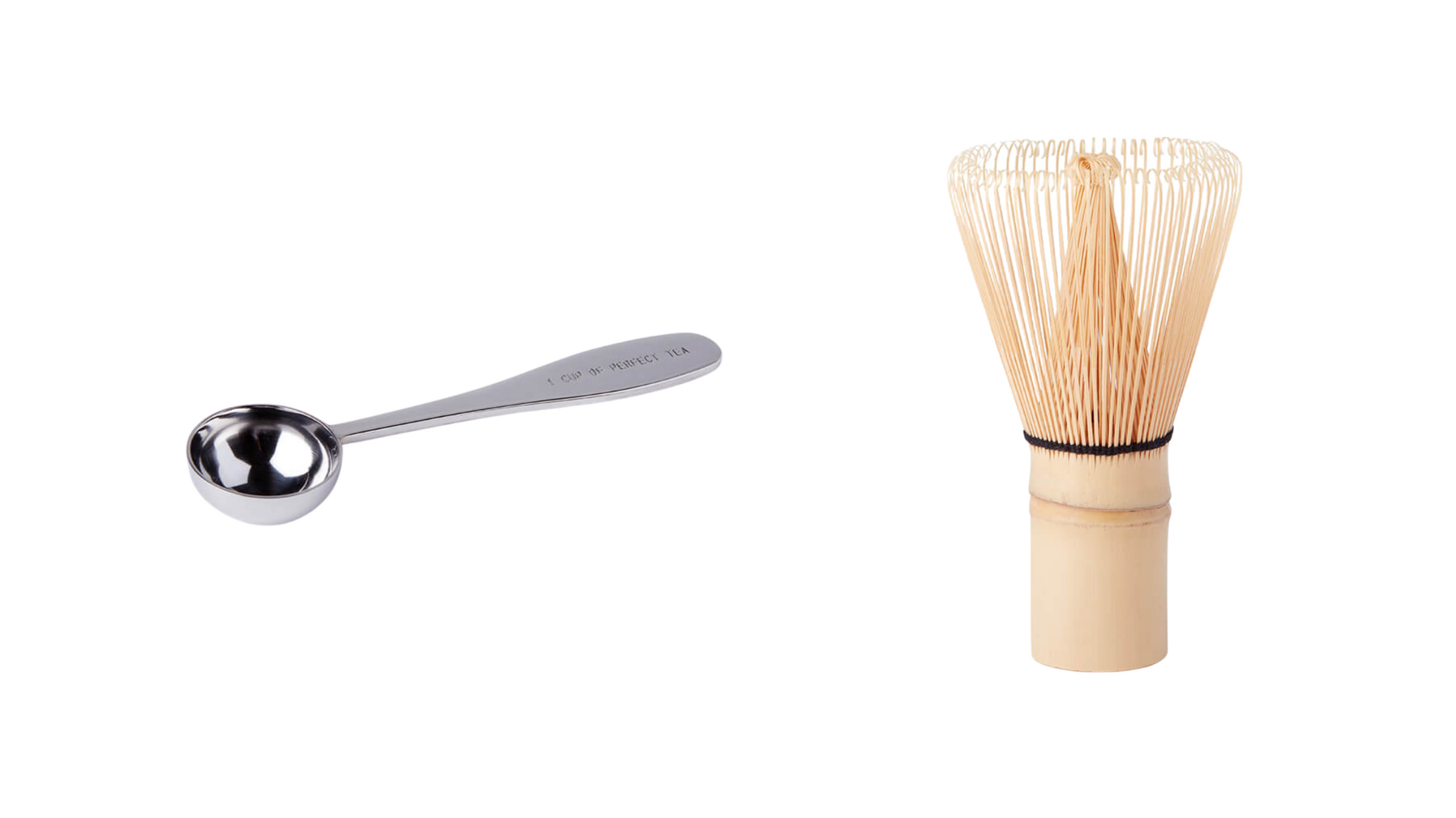 Tea Scoop and Matcha Whisk