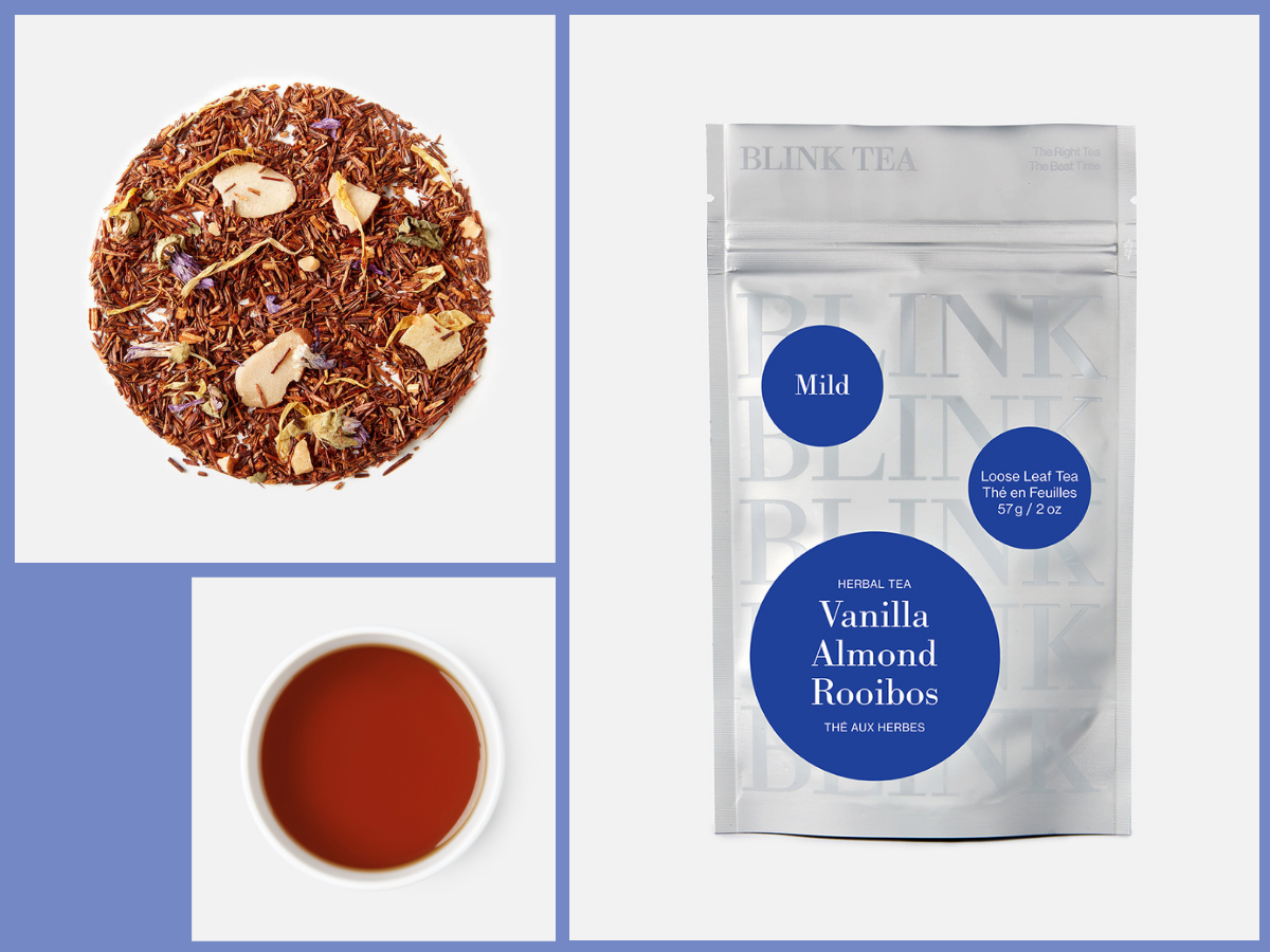 Vanilla Almond Rooibos Leaf, Liquor and Pouch