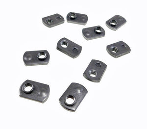 20 Pack 5//16-18 Spot Weld Nuts Double Tab ND 2724