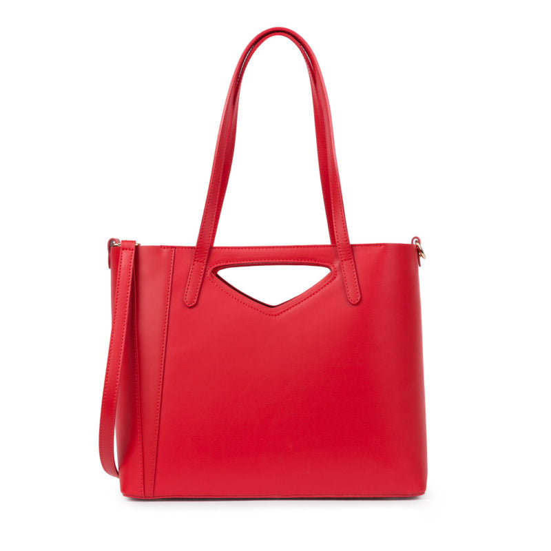 Bolso Sunset Tipo Shopping de Color Rojo - Santa Firenze