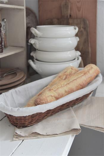 Vintage Reproduction Bread Basket