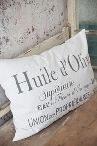 Huile d'Olive Pillow