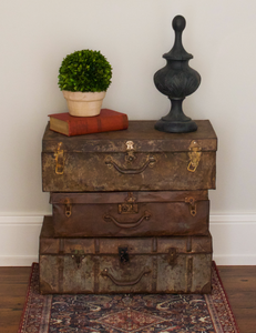 Vintage Found Metal Suitcase