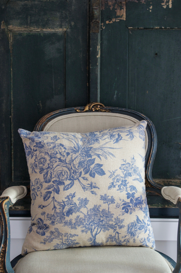 Blue & White pillow