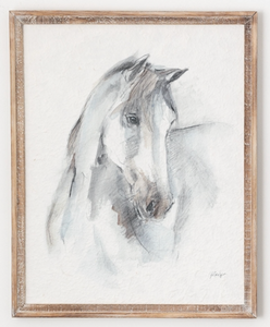 Horse Picture on Rice Paper