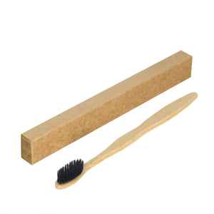 Bamboo Toothbrush Charcoal Soft Bristle / with Engraving Eco Shop PH Zero Waste Philippines Metro Manila