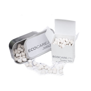 Toothy Tabs - Solid Toothpaste 150 / Paper Box Eco Shop PH Zero Waste Philippines Metro Manila
