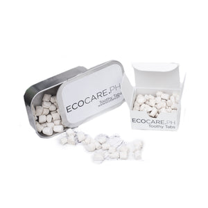 Toothy Tabs - Solid Toothpaste 75 / Paper Box Eco Shop PH Zero Waste Philippines Metro Manila
