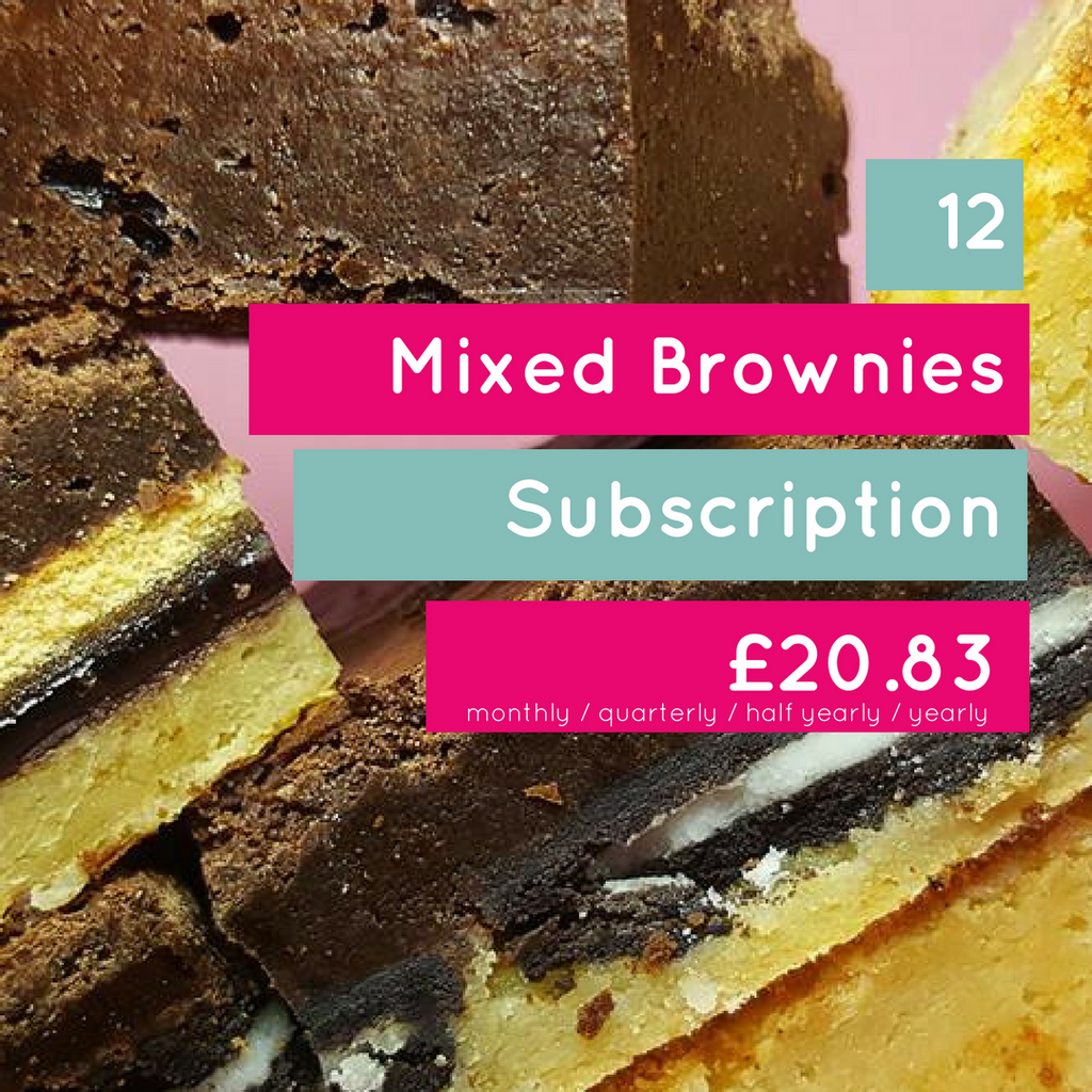 12 Mixed Brownie Subscription