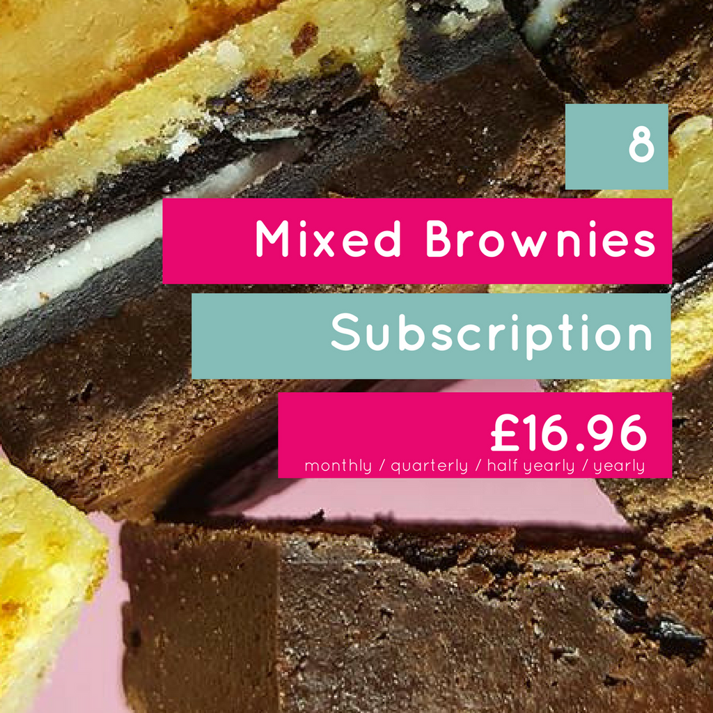8 Mixed Brownie subscription