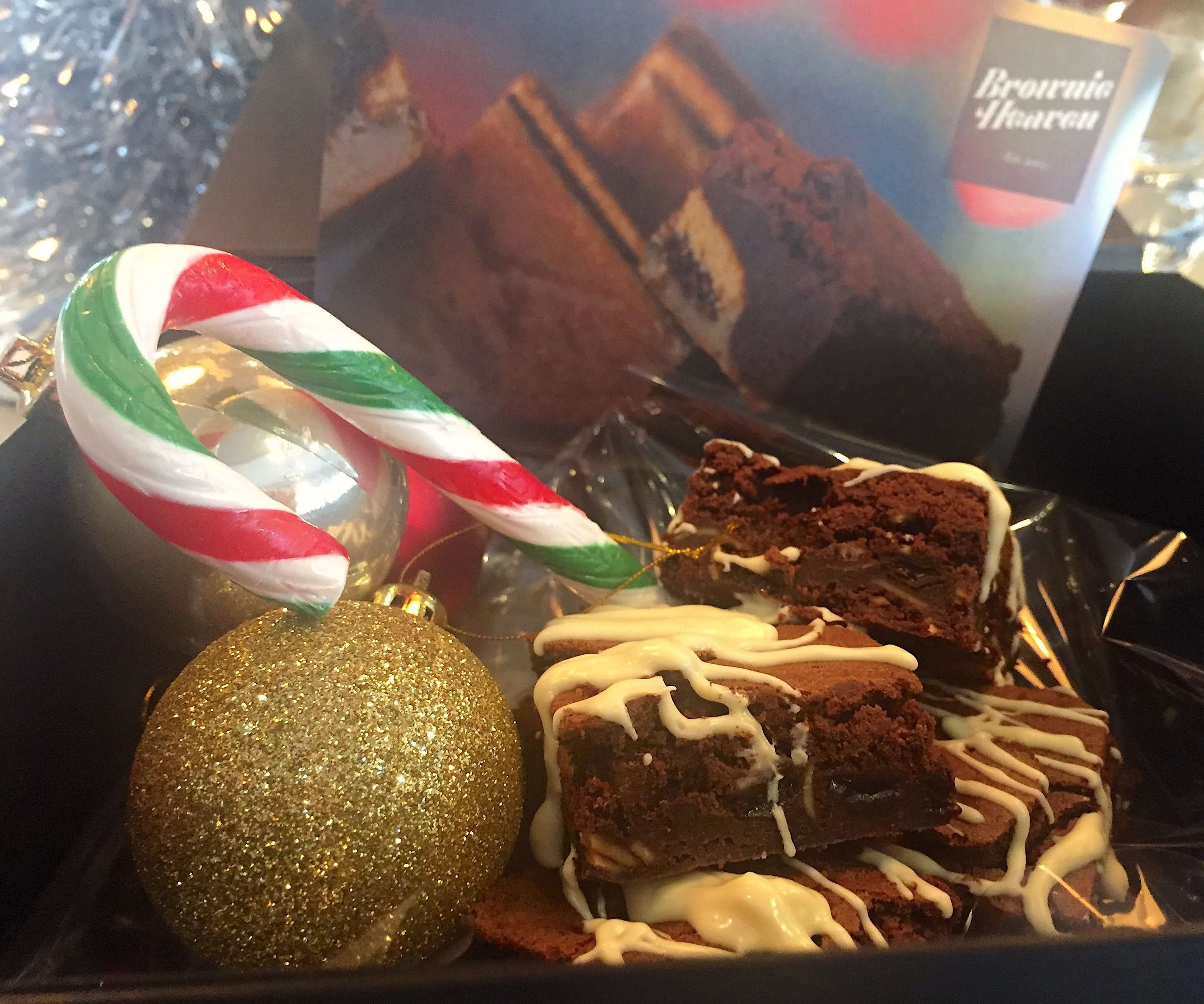 Christmas - Christmas Pudding Brownie Heaven