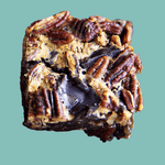 Dark Chocolate Brownies - 8 Pecan Pie Brownies