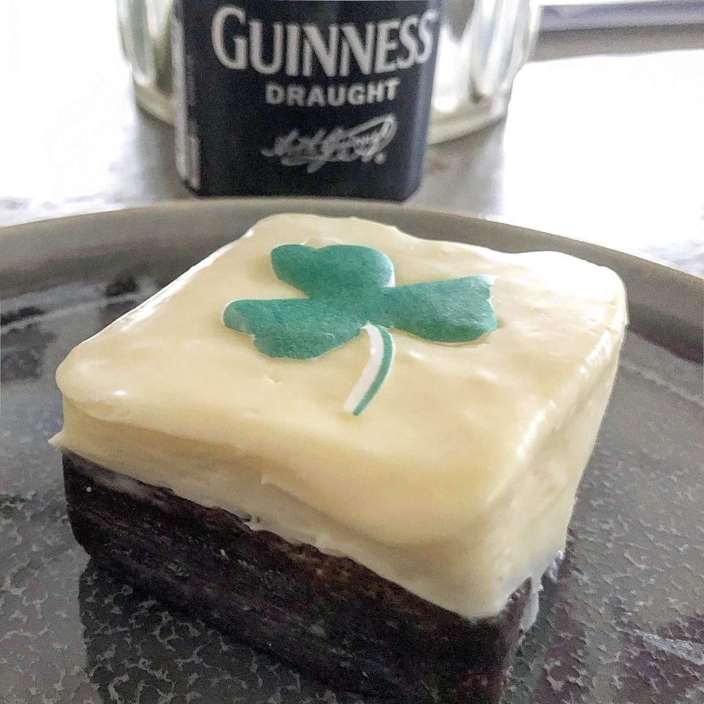 Dark Chocolate Brownies - Guinness ™️ Chocolate Brownies