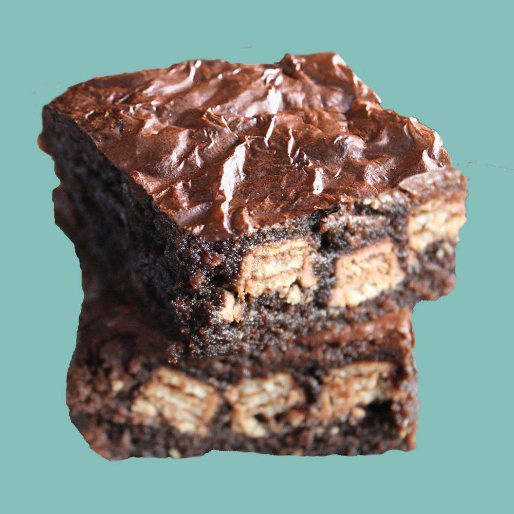 Dark Chocolate Brownies - Kit-Kat Brownies