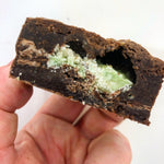 Dark Chocolate Brownies - Mint Aero Brownie