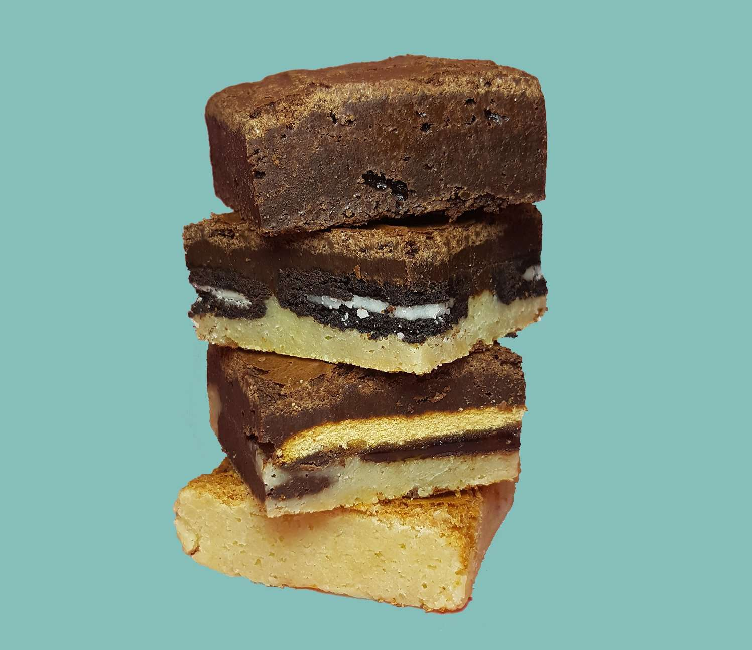 Dark Chocolate Brownies - Mixed Chocolate Brownies - Pre-paid 12 Month Subscription