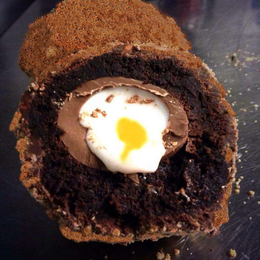 Easter - 4 Brownie Scotch Cream Eggs