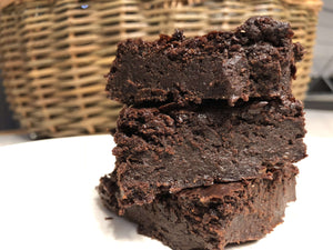 Gift Ideas - 12 Vegan Chocolate Brownies