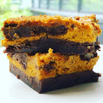 Gift Ideas - Spiced Pumpkin Pie Vegan Chocolate Brownies