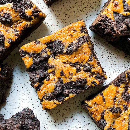 Gift Ideas - Vegan Tahini Chocolate Brownies