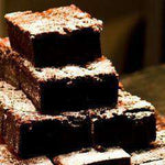 Gluten Free Brownies - 8 Gluten Free Dark Chocolate Brownies With Hazelnuts