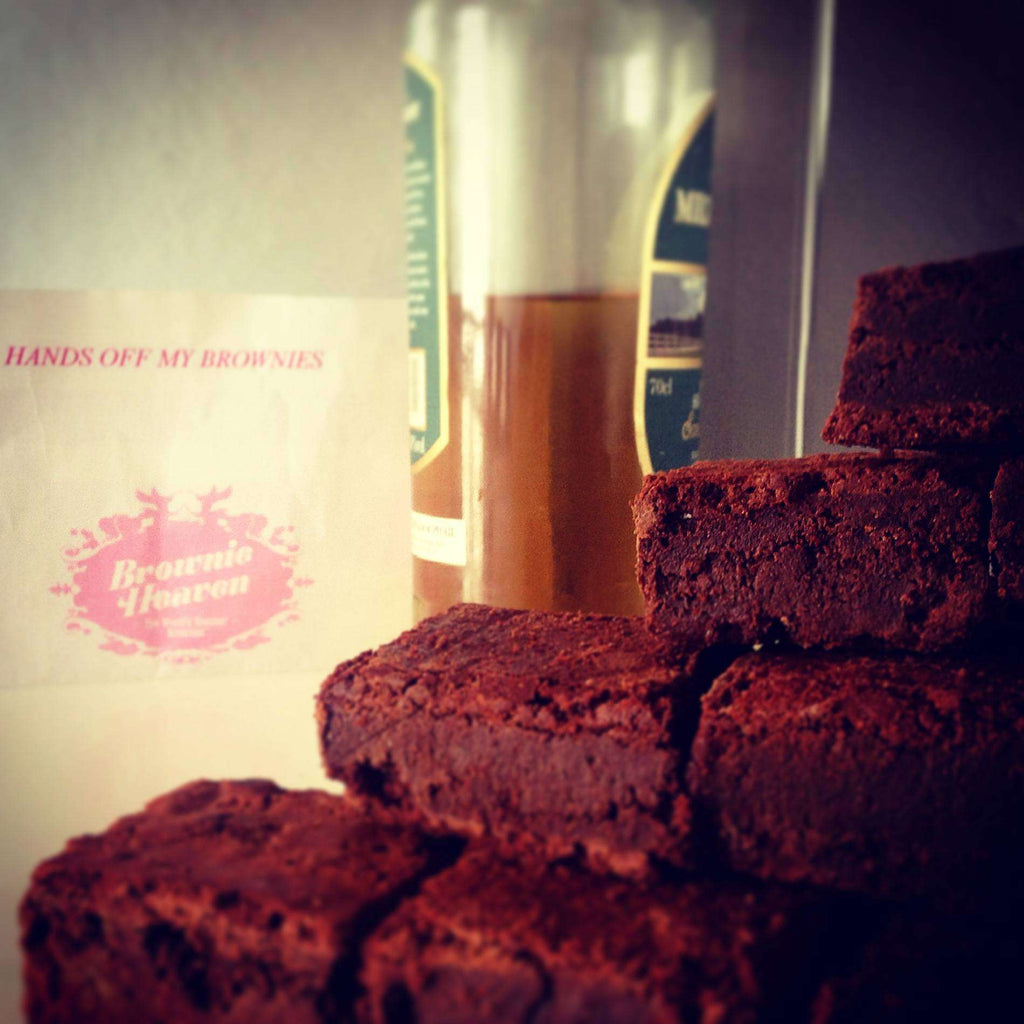 Heavenly Celebration Cakes - Whiskey Brownie Mountain (Special 35)