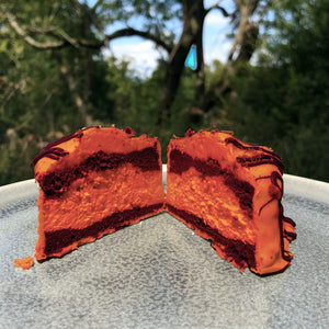 Spiced Pumpkin Fancy Halloween Brownie   - Very Limited Edition