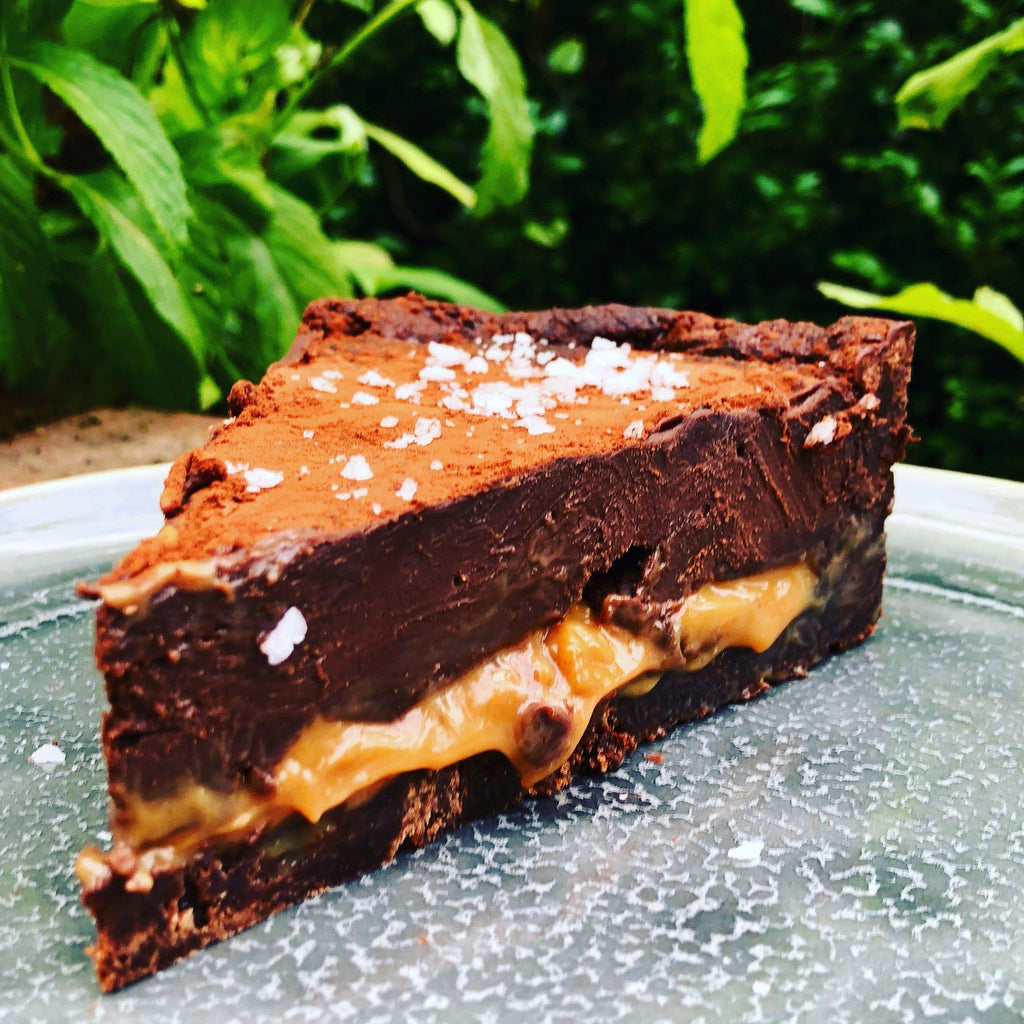 The Brownie Heaven Deep Dish Tart
