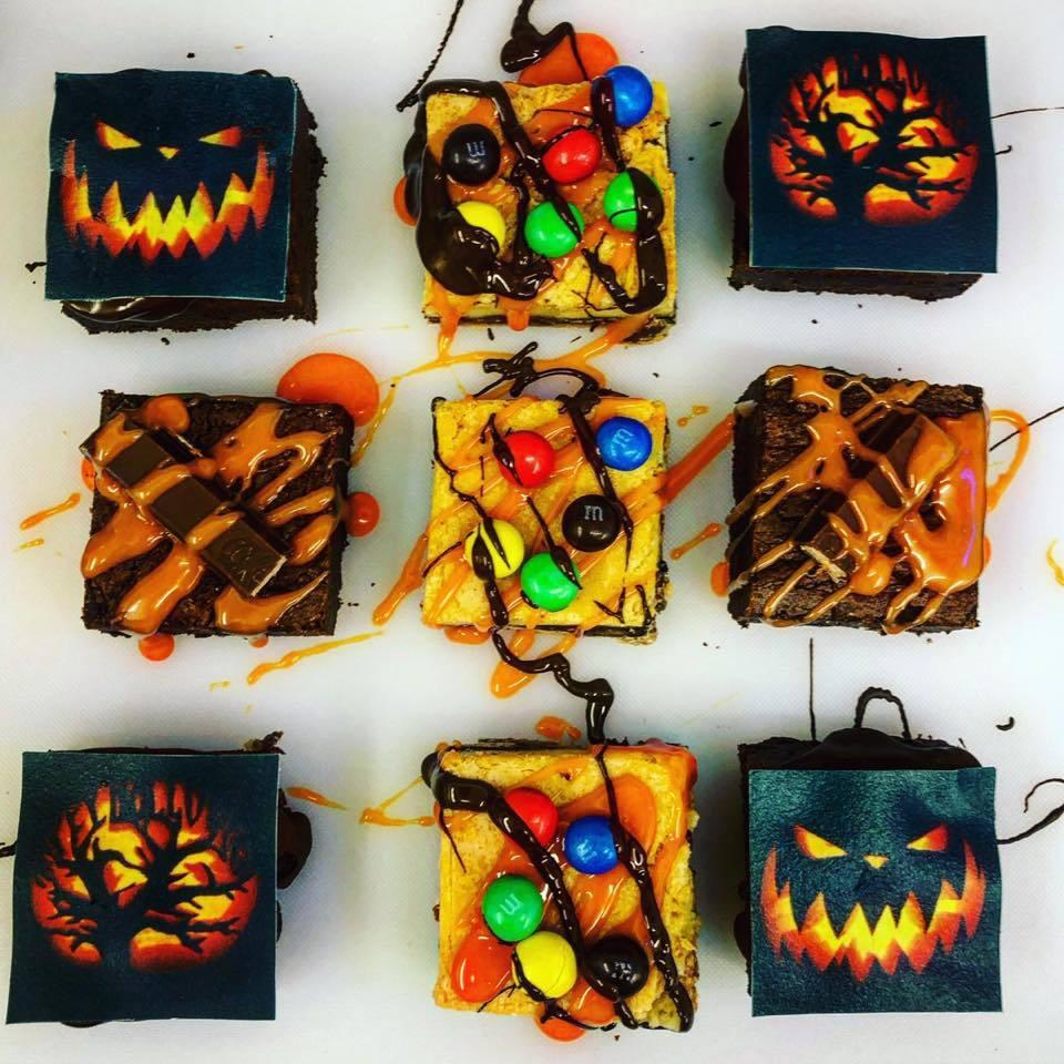 Trick Or Treat Halloween Brownies
