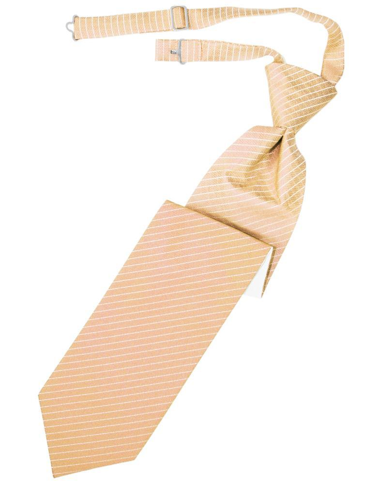 Peach Palermo Windsor Tie