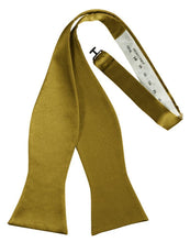 Load image into Gallery viewer, New Gold Luxury Satin Bow Tie