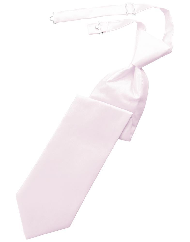 Pink Solid Twill Windsor Tie