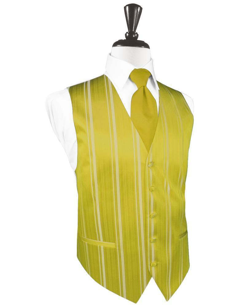 Willow Striped Satin Tuxedo Vest