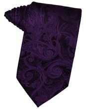 Load image into Gallery viewer, Purple Tapestry Necktie