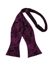 Load image into Gallery viewer, Sangria Tapestry Bow Tie