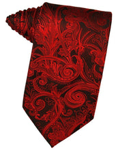 Load image into Gallery viewer, Scarlet Tapestry Necktie