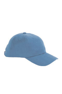 Ice Blue 6-Panel Brushed Twill Unstructured Cap