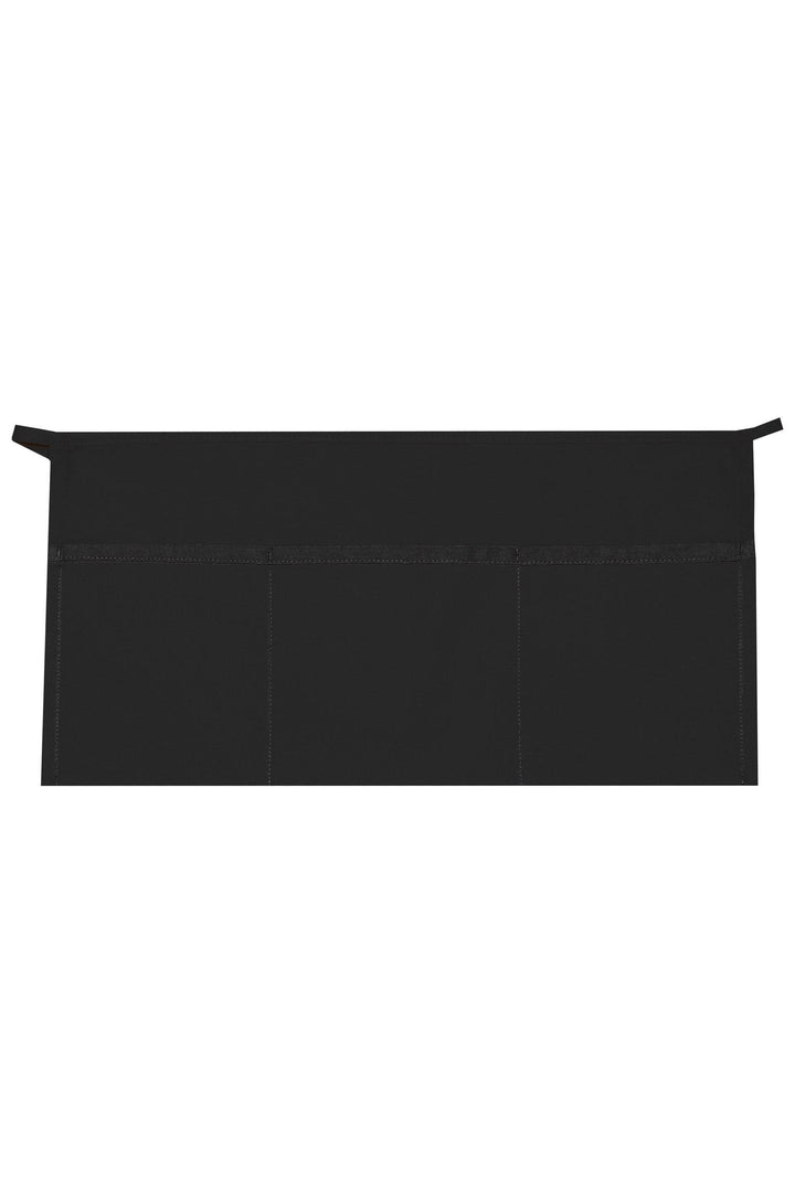 Black XL Waist Apron (3 Pockets)