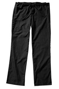 Black Drawstring Men's Housekeeping Pant