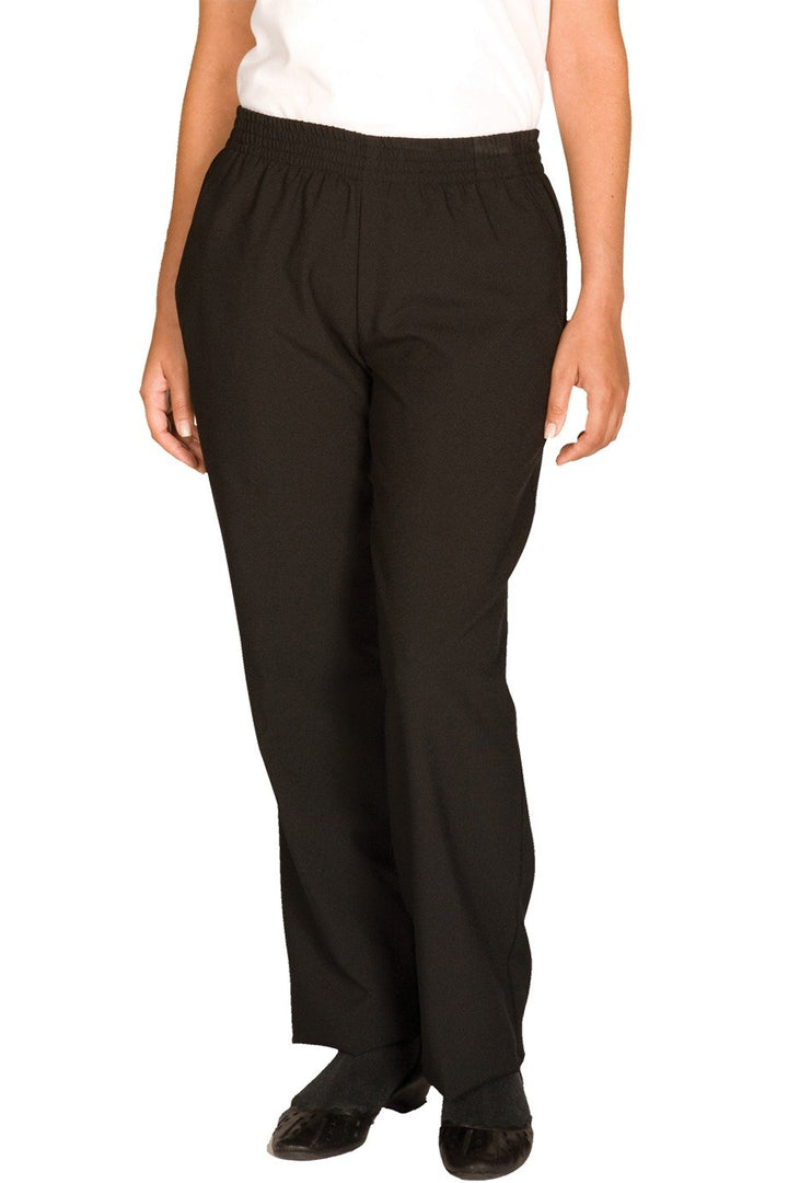 Black Polyester Women's Housekeeping Pant