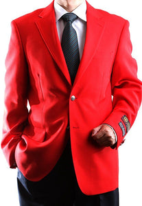 """Alberto"" Men's Red Blazer"