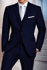 """Madison"" Midnight Navy Suit Jacket (Separates)"