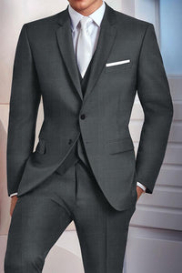 """Madison"" Steel Grey Suit Jacket (Separates)"