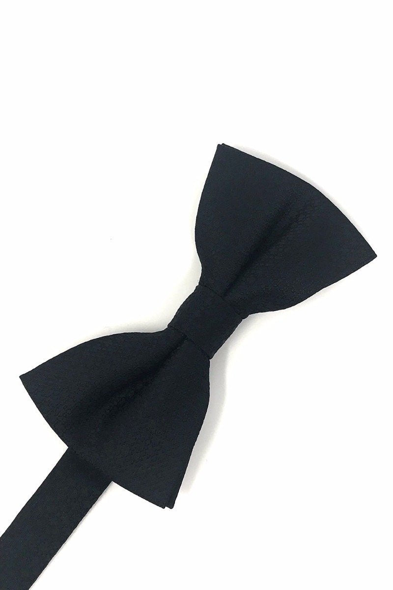Black Regal Bow Tie