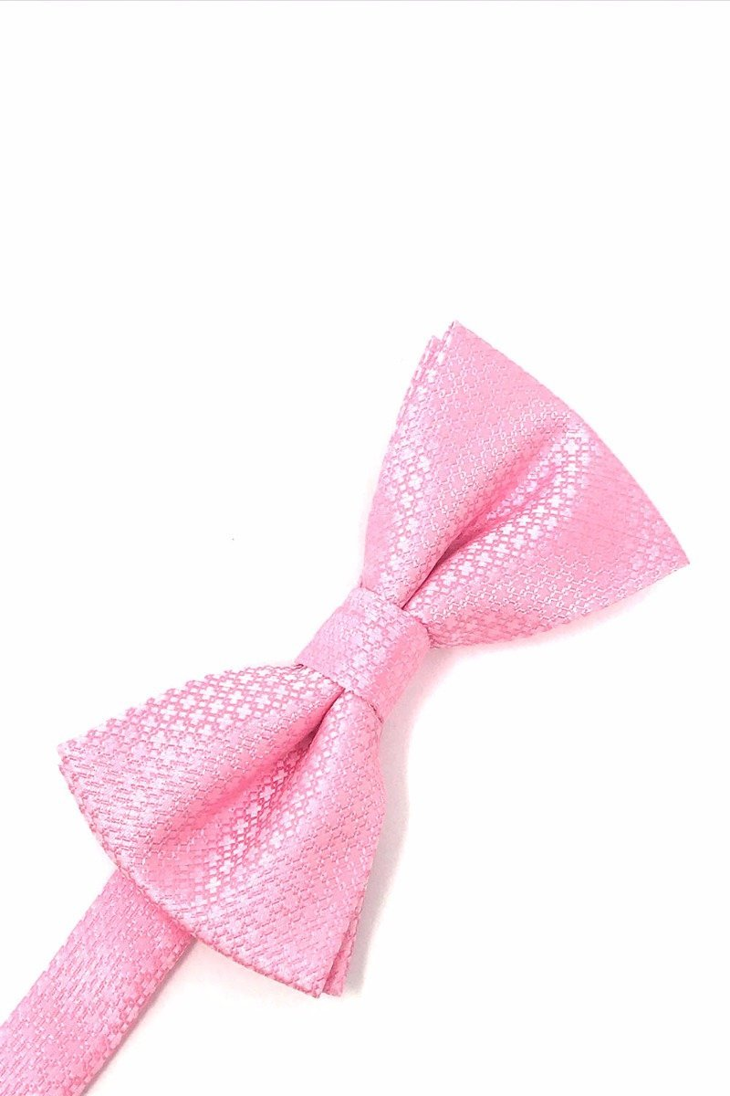Pink Regal Bow Tie