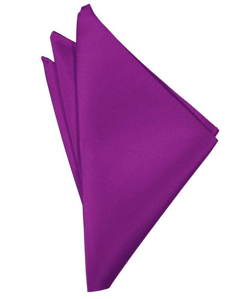 Cassis Luxury Satin Pocket Square