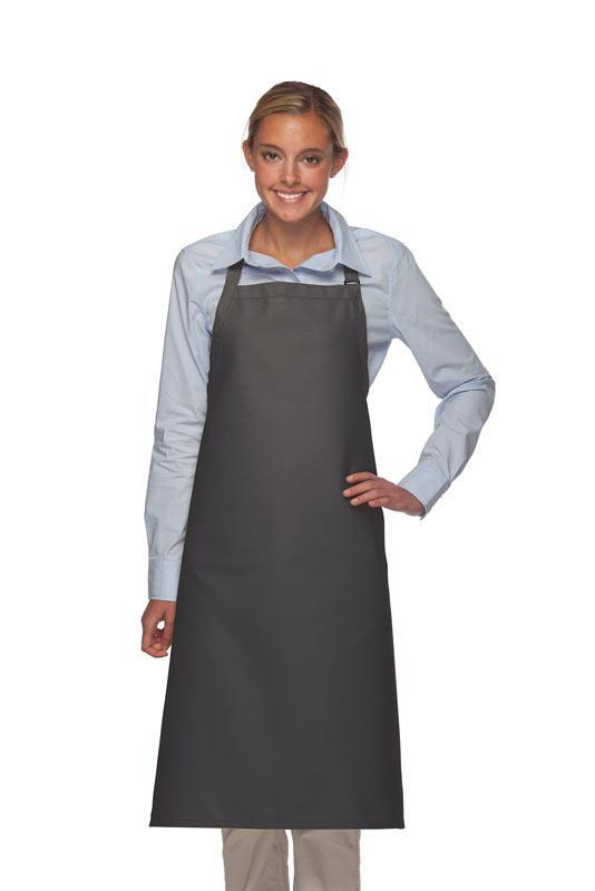 Charcoal No Pocket Adjustable XL Butcher Apron